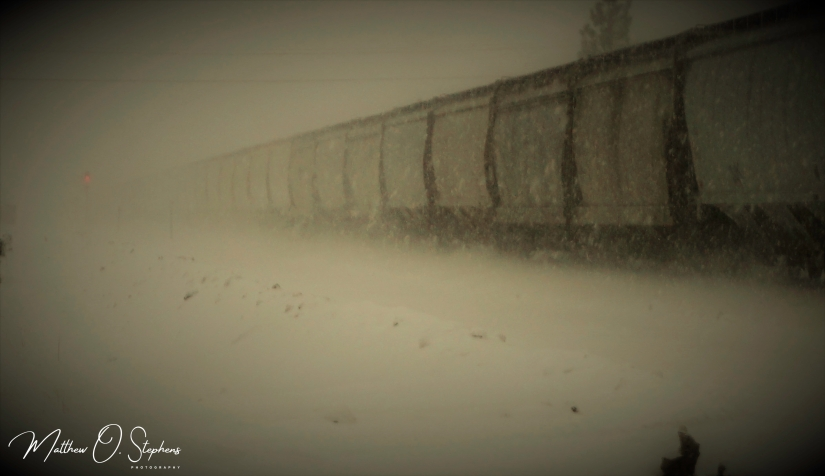 Train in snow (1 of 1)