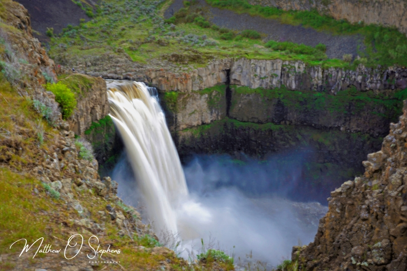 Long Exposure of Palouse Falls
