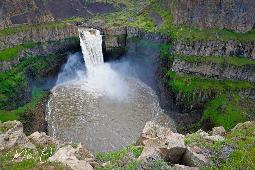 Palouse Falls and bowl