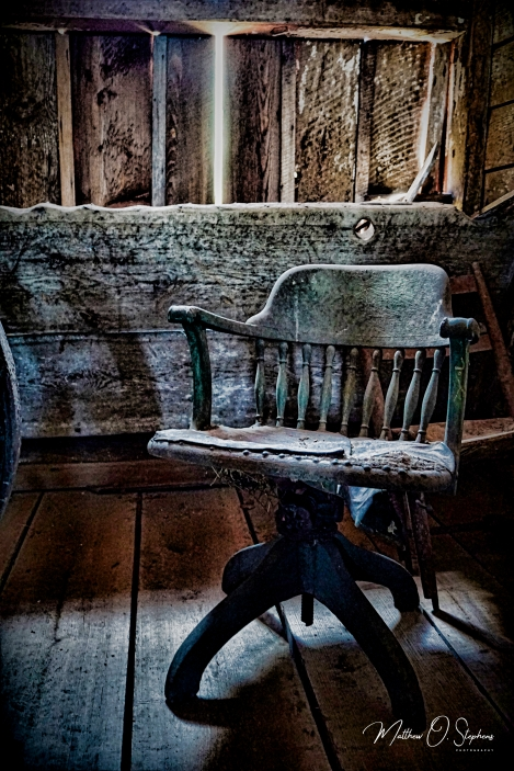 Old Chair in the Quartermaster Stable